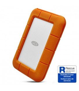 LACIE RUGGED THUNDERBOLT 2TB Hard Drive USB 3.1 Type C