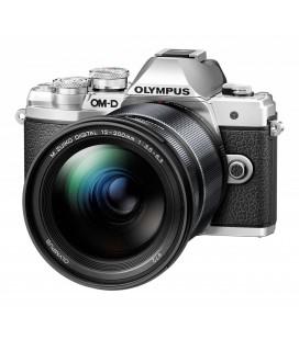 OLYMPUS  E-M10 MKIII CON 12-200MM PLATA