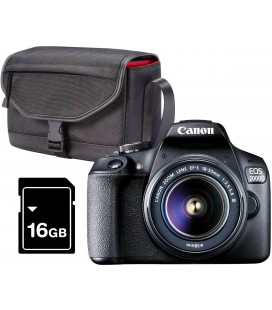 CANON EOS 2000D + 18-55MM + CUSTODIA SB13 + 16GB