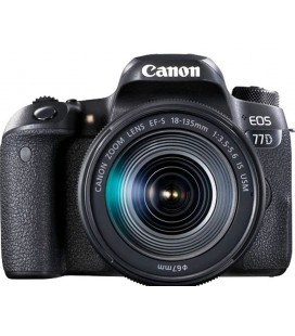 CANON EOS 77D + 18-135 IS USM NANO + GRATIS 1 YEAR MAINTENANCE VIP SERPLUS CANON