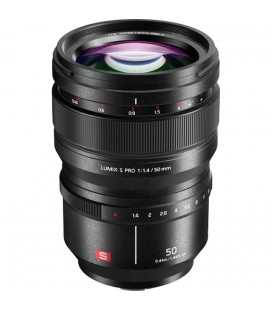 PANASONIC LUMIX SPRO 50MM F/1.4 + €200 CASHBACK HASTA 30-04-2019