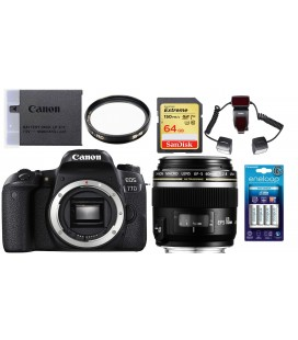 CANON EOS 77D KIT PARA FOTOGRAFIA DENTAL