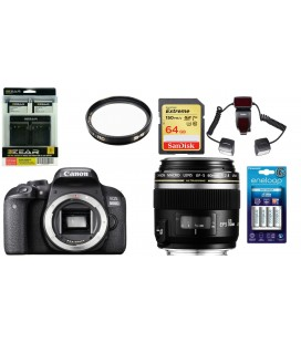 CANON EOS 800D KIT PARA FOTOGRAFIA DENTAL