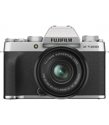 FUJIFILM X-T200/XC15-45mmF3.5-5.6 OIS PZ - PLATA OSCURO
