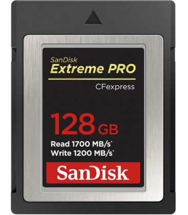 SANDISK CFEXPRESS EXTREME PRO128GB 1700/ 1200MB/S