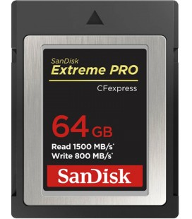 SANDISK CFEXPRESS EXTREME PRO 64GB 1500/ 800MB/S