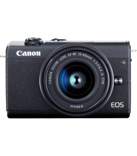 CANON EOS M200 + EF 15-45MM f/3.5-6.3 IS STM - BLACK