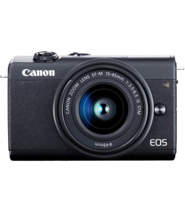 CANON EOS M200 + EF 15-45MM f/3.5-6.3 IS STM - NEGRO