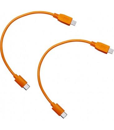 TETHER CABLE AIR DIRECT USB-C A USB2.0 MINI-B 5PIN - 2PK