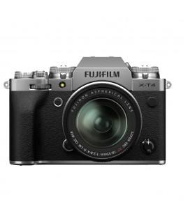 FUJIFILM X-T4 +XF 18-55 F2.8-4 R LM OIS - PLATA