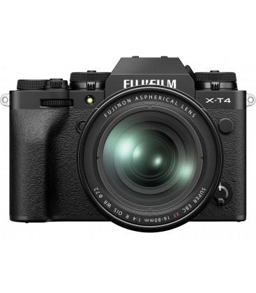FUJIFILM X-T4 +XF 16-80MM F/4 R OIS WR - NEGRO