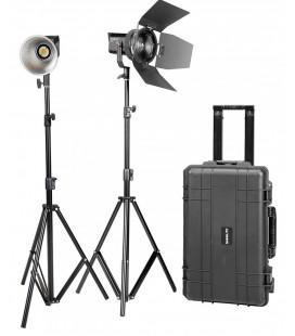 3x6m Pantalla blanca Kit luz continua de para estudio fotográfico y fondo GR