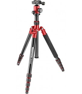 MANFROTTO TRIPODE ELEMENT TRAVELLER BIG RED - MKELEB5RD-BH