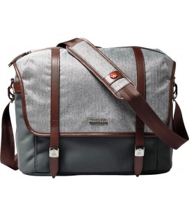 MANFROTTO BOLSA WINDSOR MESSENGER M GRIS  MB LF-WN-MM