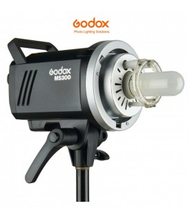 GODOX FLASH MS300 CON X RICEVENTE