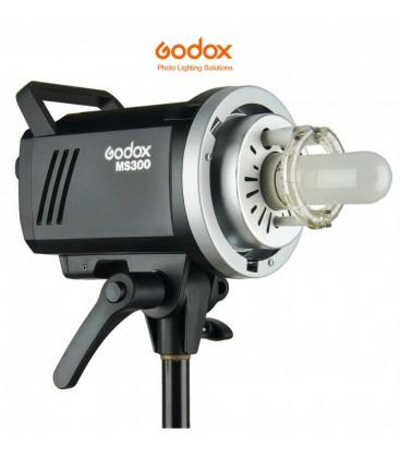 GODOX FLASH MS300 CON RECEPTOR X I