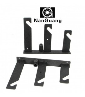 NANGUANG SUPPORT BACK / TRIPLE HOOK FOR WALL AND FEET NG-M003S