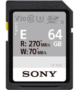 SONY SDXC 64GB UHS-II R270/W70/V30