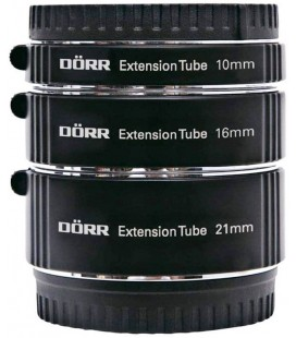 DORR TUBO EXTENSION (3) P/ FUJIFILM ( 10,16,21 MM )
