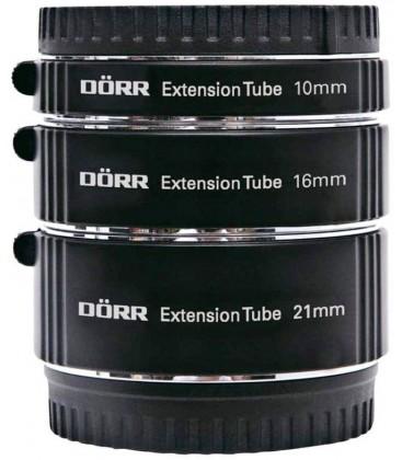 DORR TUBO EXTENSION (3) P/ FUJIFILM ( 10,16,21 MM )