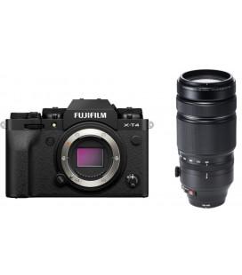FUJIFILM X-T4 CUERPO + XF 100-400 mm F4.5-5.6 R OIS WR