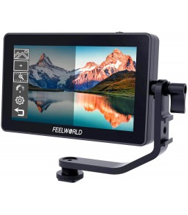 "FEELWORLD F6 PLUS 5.5"" 4K MONITOR-TÁCTIL REF: FW004"