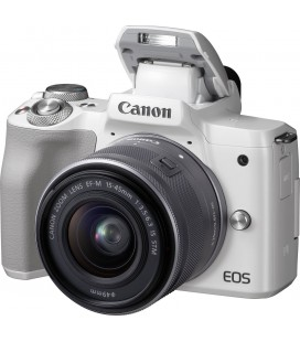 CANON EOS M50 + 15-45MM IS STM - BLANC
