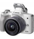 CANON EOS M50 + 15-45 MM IST STM - WEISS