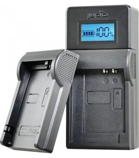 CARICATORE USB JUPIO SONY / JVC/SAMSUNG SINGOLO DA 3,6 A 4,2 V