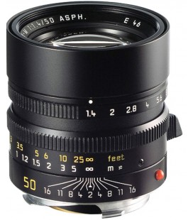 LEICA SUMMILUX-M 50 MM F / 1,4 ASPH. ANODIZED BLACK REF: 11891