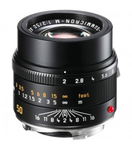 LEICA APO-SUMMICRON-M 50MM F / 2 ASPH., BLACK ANODIZED REF: 11141