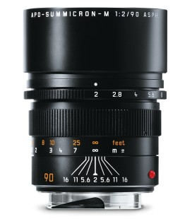 LEICA APO-SUMMICRON-M 90 MM F / 2 ASPH. BLACK ANODIZED REF: 11884