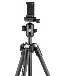 MANFROTTO ELEMENT MII MOBILE (CON PINZA SMARTPHONE) CARBONO - NEGRO
