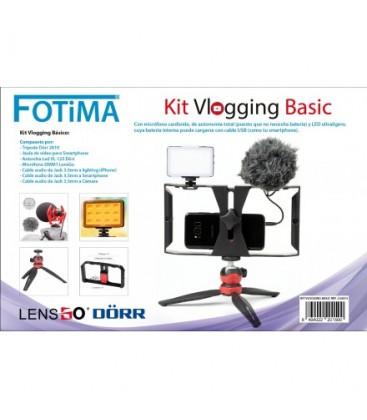 FOTIMA VLOGGING KIT P/SMARTPHONE BASIC REF. 220075