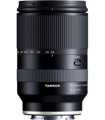 TAMRON 28-200MM F / 2.8-5.6 DI III RXD SONY E / FE