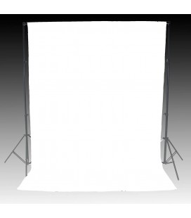 FOTIMA WHITE FABRIC BACKGROUND 3X3 - REF. 220012