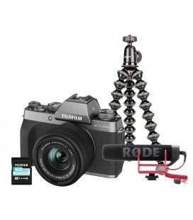 FUJIFILM X-T200/XC15-45mmF3.5-5.6 OIS PZ - ANTRACITA KIT VLOGGING
