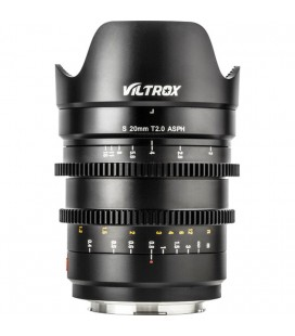 VILTROX  20MM T2.0  MF CINE L MOUNT PANASONIC REF. 350108