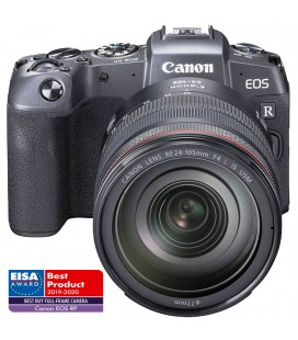 CANON EOS RP + RF 24-105MM F/4 L IS USM  + ADAP. EF-EOS R PRODUCTO DEMO ( ESTADO EXCELENTE)