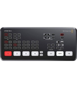 BLACKMAGIC ATEM MINI MEZCLADOR VIDEO PROFESSIONAL