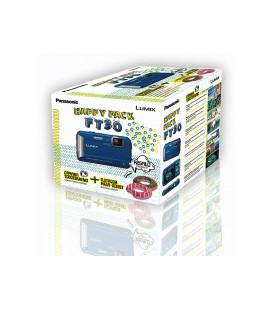 PANASONIC CAMERA FT30 BLUE + FLOAT PACK