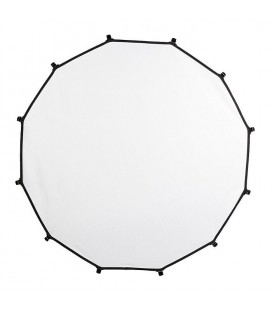 LASTOLITE FABRIC 82CM. HALO COMPACT SILBER / WEISSER DIFFUSOR 2 STOP LL LR3303