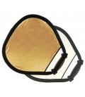 LASTOLITE TRIGRIP REFLECTOR MINI 45 CM GOLD / WEISS UND LR3541