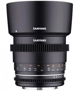 SAMYANG 85 MM T1.5 VDLSR MK2 CANON EF