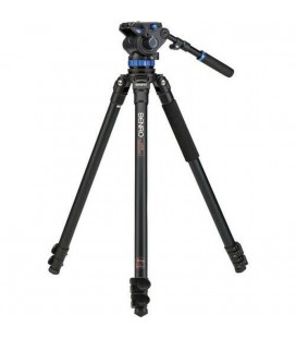 BENRO TRIPODE VIDEO KIT ALUMINUM A373FBS7 WITH JOINT S7