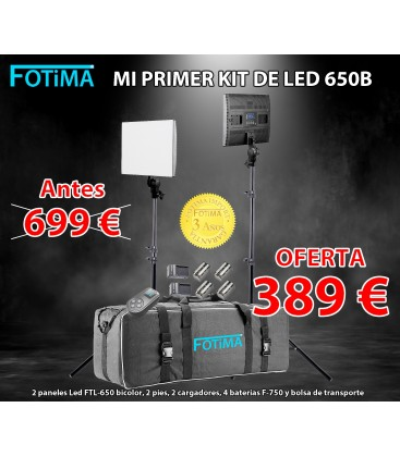 "FOTIMA STUDIO ""MI PRIMER KIT LED 650B"""
