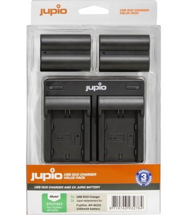 JUPIO CARGADOR DOBLE + 2 BATERIAS FUJI W235 REF. CFU1002