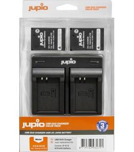 JUPIO CARGADOR DOBLE + 2 BATERIAS LP-E12 REF. CCA1010