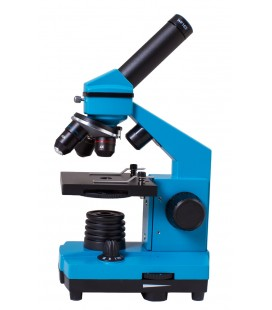 LEVENHUK RAINBOW 2L PLUS MICROSCOPE - BLUE
