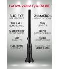 LAOWA OBJETIVO 24MM F1.4 2X PROBE LENS CANON